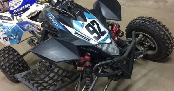 Suzuki LT-R 450 Race ready